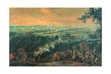 The Battle of Lesnaya, 1720S Giclee Print by Nicolas de Larmessin