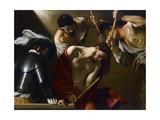 Christ Crowned with Thorns, 1603-1604 Giclée-vedos tekijänä  Caravaggio