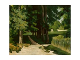 The Avenue at the Jas De Bouffan, 1869-1870 Giclee Print by Paul Cézanne