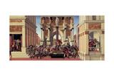 The Story of Lucretia, 1500 Reproduction procédé giclée par Sandro Botticelli