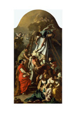 The Descent from the Cross, 1729 Giclée-tryk af Francesco Solimena