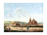 Church in Chita, 1829-1839 Giclee Print by Nikolai Alexandrovich Bestuzhev