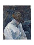 La Rousse in a White Blouse, 1889 Lámina giclée por Henri de Toulouse-Lautrec