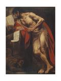 Mark the Evangelist Giclée-Druck von Pietro Della Vecchia