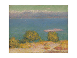 The Bay of Nice, 1891 Giclee Print by John Peter Russell