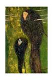 Nymphs (Silver Fis), 1899 Giclée-Druck von Gustav Klimt