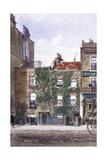 View of the Residence of Joseph Mallord William Turner, Cheyne Walk, Chelsea, London, 1882 Impressão giclée por John Crowther