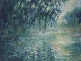 Morning on the Seine, 1898 Giclée-Druck von Claude Monet