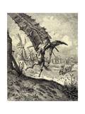 Illustration to the Book Don Quixote De La Mancha by M. De Cervantes, 1863 Giclee Print by Gustave Doré