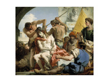 Christ Crowned with Thorns, 1772 Giclée-tryk af Giandomenico Tiepolo