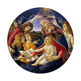 Madonna of the Magnificat, 1483 Giclee Print by Sandro Botticelli