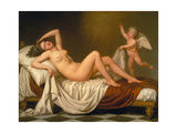 Danaë and the Shower of Gold, 1787 Gicléetryck av Adolf Ulrik Wertmüller