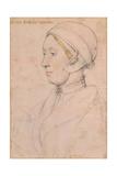 Unknown Lady (Anne Boley), 1536 Reproduction procédé giclée par Hans Holbein the Younger
