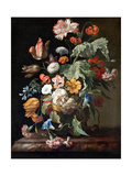 Still-Life with Flowers Giclee-trykk av Rachel Ruysch