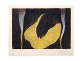 Loïe Fuller in the Dance the Archangel, 1902 Reproduction procédé giclée par Koloman Moser