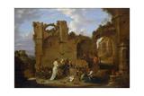 The Temptation of Saint Anthony Giclée-Druck von David Teniers the Younger