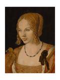 Portrait of a Young Venetian Woman, 1505 Reproduction procédé giclée par Albrecht Dürer