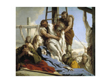 The Descent from the Cross, 1772 Giclée-tryk af Giandomenico Tiepolo