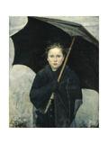 The Umbrella, 1883 Giclee-trykk av Maria Konstantinovna Bashkirtseva