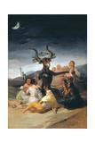 Witches Sabbath, 1797-1798 Reproduction procédé giclée par Francisco de Goya