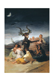 Witches Sabbath, 1797-1798 Giclée-Druck von Francisco de Goya