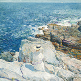 The South Ledges, Appledore, 1913 Giclee Print by Childe Hassam