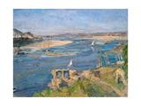 The Nile Near Aswan, 1914 Giclée-tryk af Max Slevogt