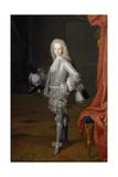 Louis I as Prince of Asturias, 1717 Lámina giclée por Michel-ange Houasse