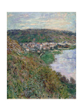 View of Vétheuil, 1880 Giclee Print by Claude Monet