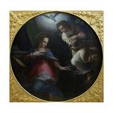 The Annunciation, 1570-1571 Giclée-tryk af Giorgio Vasari