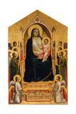 The Ognissanti Madonna, Ca 1310 Giclée-tryk af  Giotto di Bondone