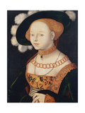 Portrait of a Lady, Ca 1530 Giclee Print by Hans Baldung