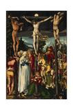 The Crucifixion of Christ, 1512 Gicléetryck av Hans Baldung