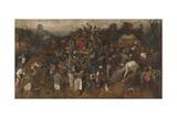 St. Martin's Day Kermis, 1565-1569 Reproduction procédé giclée par Pieter Bruegel the Elder
