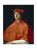 Portrait of a Cardinal, C. 1510 Reproduction procédé giclée par  Raphael
