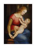 Madonna D'Orleans, Ca 1506-1507 Reproduction procédé giclée par  Raphael
