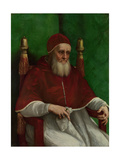 Portrait of Pope Julius II, 1511 Reproduction procédé giclée par  Raphael