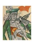 Jack of Hearts, 1913-1914 Impressão giclée por Olga Vladimirovna Rozanova