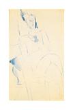 Portrait of Jean Cocteau, C. 1916 Giclee Print by Amedeo Modigliani
