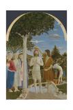 The Baptism of Christ, 1450S Giclée-tryk af Piero della Francesca,