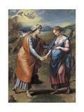 The Visitation, 1517 Reproduction procédé giclée par  Raphael