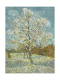 The Pink Peach Tree, 1888 Giclee-trykk av Vincent van Gogh