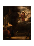 The Annunciation, 1655 Giclee Print by Salomon Koninck