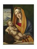 The Virgin and Child, Ca 1483 Giclée-tryk af Alvise Vivarini