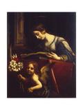 Saint Catherine, 1670 Lámina giclée por Carlo Dolci