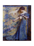 The Mirror, C. 1910 Giclee Print by Robert Reid