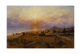 Fort Ross. Russian-American Company Settlement, C. 1880 Giclee Print by Henry Raschen