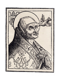 Pope Gregory I the Great Giclee Print