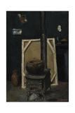 The Stove in the Studio, Ca 1865 Reproduction procédé giclée par Paul Cézanne