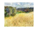 Wheatfield, 1879 Giclée-tryk af Pierre-Auguste Renoir